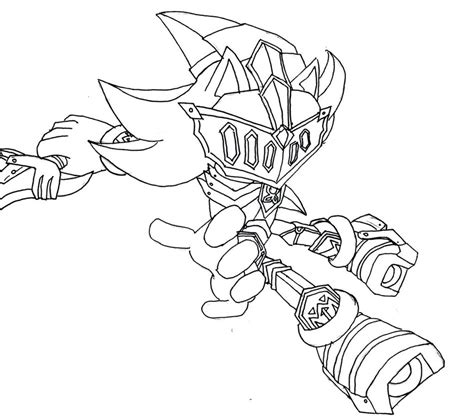 And The Black Knight Sonic Coloring Pages Coloring Pages Sonic And The Black Coloring Pages