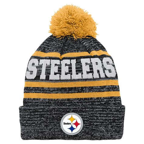 steelers knit beanie nfl boys knit beanie pittsburgh steelers shop your