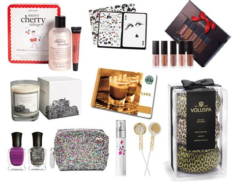 holiday gift guide secret santa gift ideas lauren messiah
