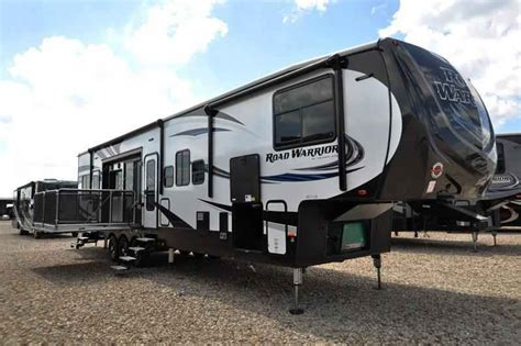 2017 New Heartland Rv Road Warrior Rw427 Bath 1 2 Bunk Fifth Wheel Cers With Bunk Beds