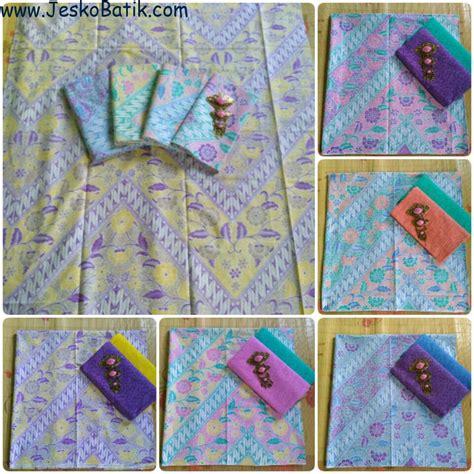 Kain Batik Printing Dan Kain Embos 2 paket kain batik soft print motif seno pastel dan kain embos ka22 batik pekalongan by jesko batik