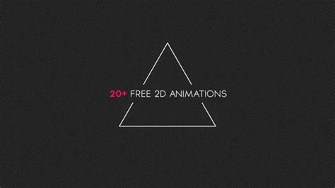 Free After Effects Template 4 2d Animation Pack Youtube After Effects Animation Templates Free