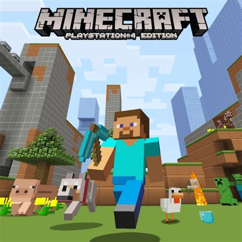 how to buy full version of minecraft ps4 minecraft playstation 4 edition minecraft plastic