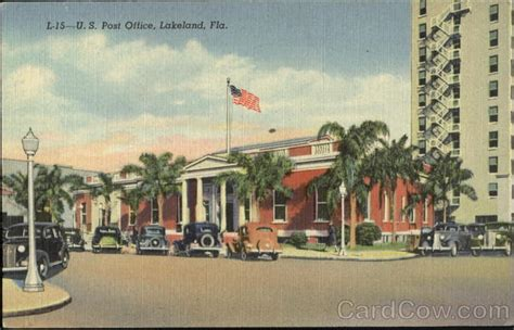 Post Office Lakeland Fl by U S Post Office Lakeland Fl