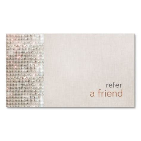 refer a friend coupon template 124 best salon business cards images on