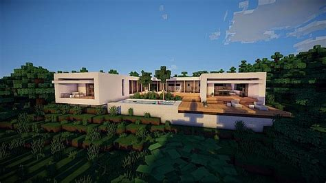 lake side house quot inflow quot minimal lakeside house minecraft project
