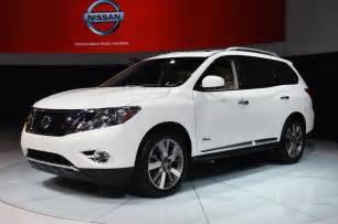 Nissan Pathfinder Gas Mileage 2014 Nissan Pathfinder Hybrid 26 Mpg Combined Fuel