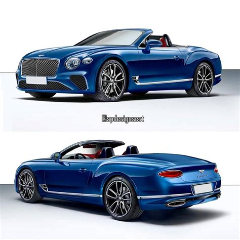 bentley gt 2018 bentley continental gt convertible rendering looks