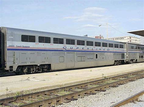 Amtrack Sleeper by Superliner Amtrak Phivb Set A V2 106 3515 10500 Kato Usa