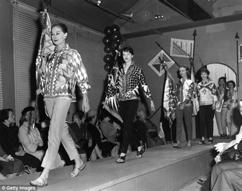 how fashion shows changed from the fifties to today