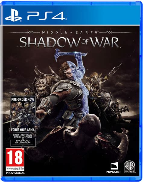 Dijamin Middle Earth Shadow Of War Ps4 middle earth shadow of war ps4 zavvi