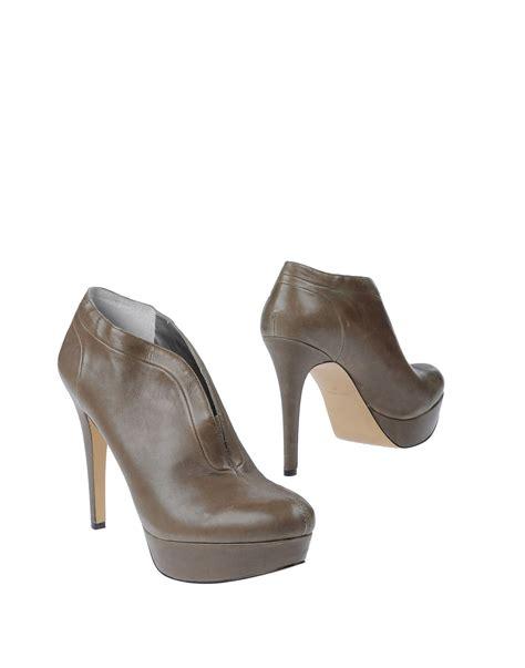 high heel grey boots nine west high heel platform shoe boots in gray dove grey