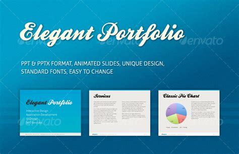 best photos of portfolio templates for powerpoint