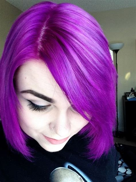pin by jerome powell on haircare hairstyles pinterest jerome russell punky purple hair makeup fashion