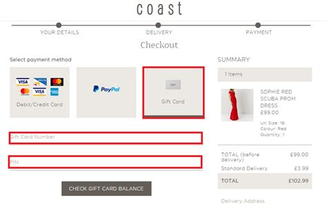 Check My Balance Gift Card - coast gift card balance enquiry check coast fashion gift card balance online my