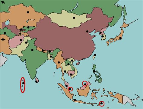 asia map practice test your geography knowledge asia capitals quiz