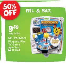 buying online target black friday ms pac man plug n play tv game at toysrus black friday 2008
