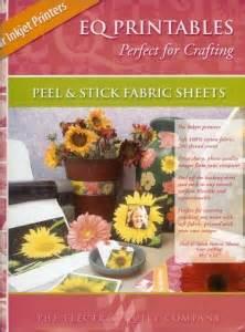 eq printable fabric sheets uk eq5 eq6 companion cd s