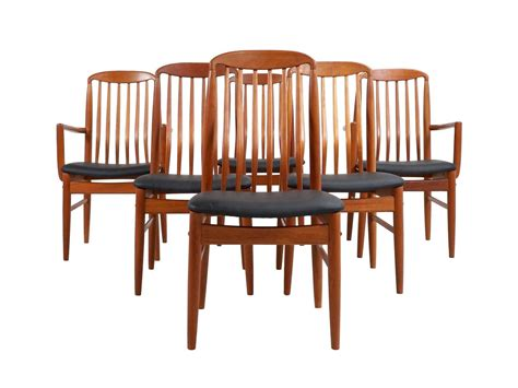 teak chairs for sale thai teak dining chairs by benny linden 1970s set of 6