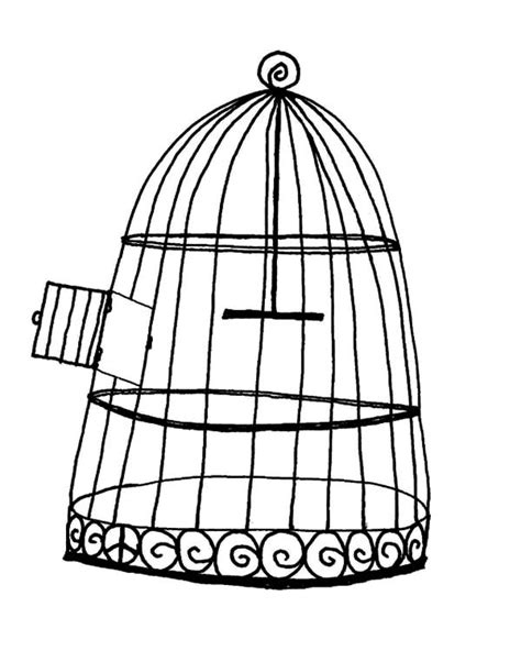 coloring pages of bird cages bird cage coloring pages for kids best place to color