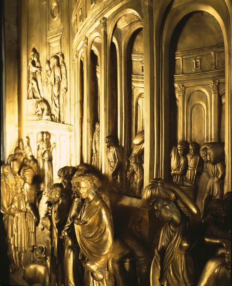 ghiberti porta paradiso pannello della porta paradiso galleria d arte pietro