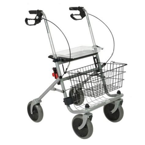 d饌mbulateur rollator 4 roues avec si鑒e et panier vente d 233 ambulateur rollator adage cristallo 4 roues avec