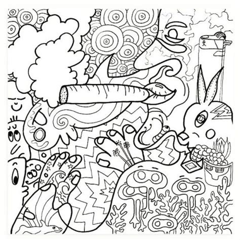 Color Me Darling Coloringbook Coloringpage The Stoner Coloring Pages