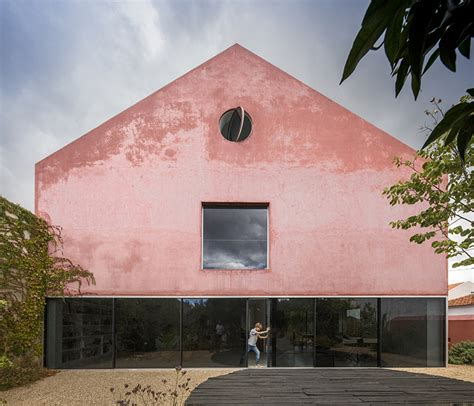 red house design studio jingdezhen extrastudio transforms historic winery in portugal into