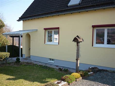 fassade einfamilienhaus haus deko ideen