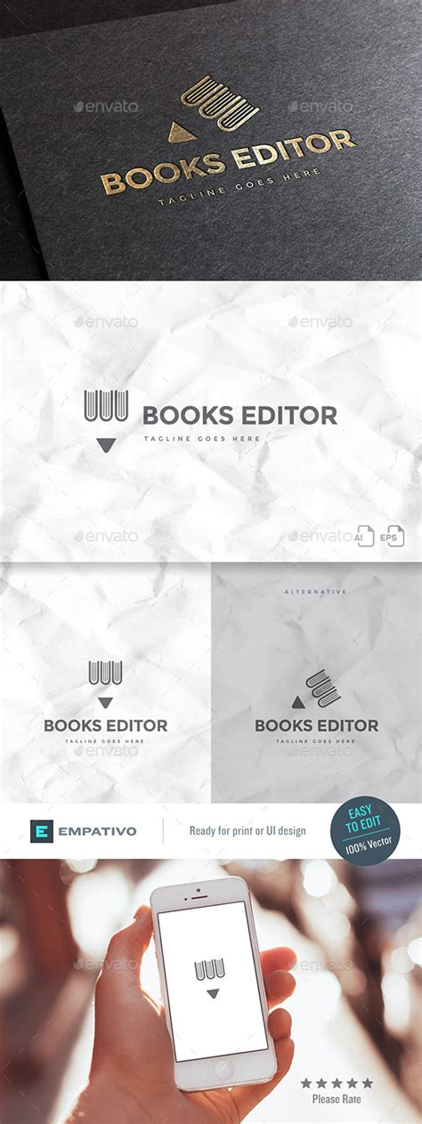 publisher logo templates book publisher logo template by empativo graphicriver