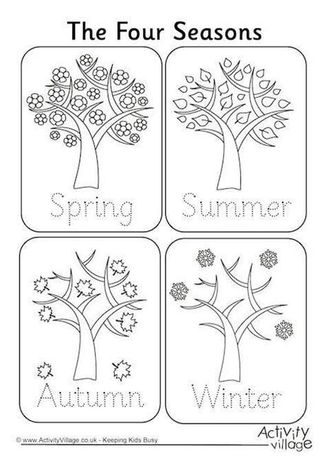 kindergarten activities on seasons 40 best images about seasons on pinterest seasons