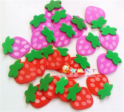 Wall Sticker Zs092 Strawberry In Garden wall decoration material three dimensional flowers sticker