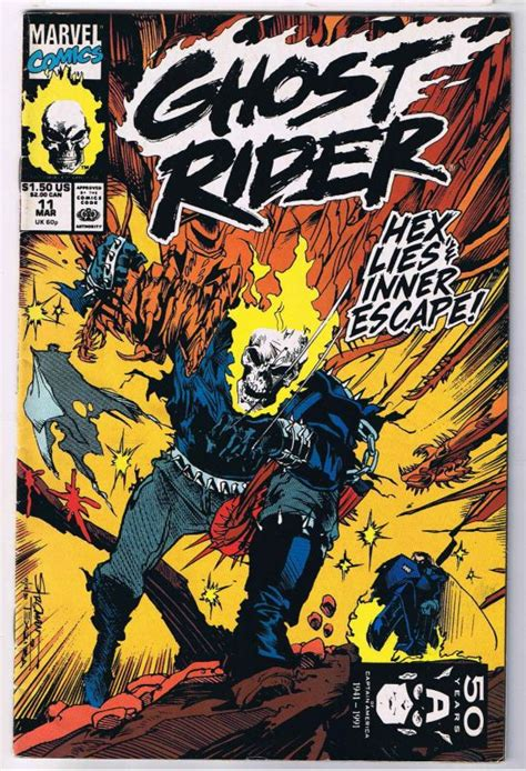 ghost rides books ghost rider 11 comic book 1 49 comic megastore corp