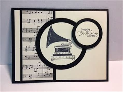 Handmade Songs Free - masculine cards black and white sheets and rubber