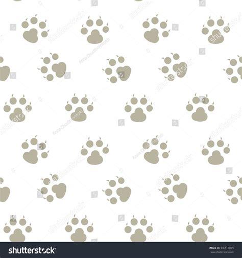 seamless pattern shutterstock animal footprint seamless pattern paw stock vector
