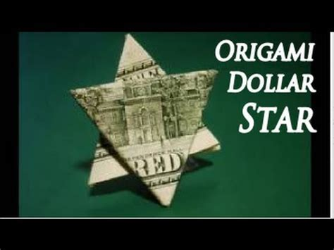 Make Paper Feel Like Money - how to make an easy origami dollar