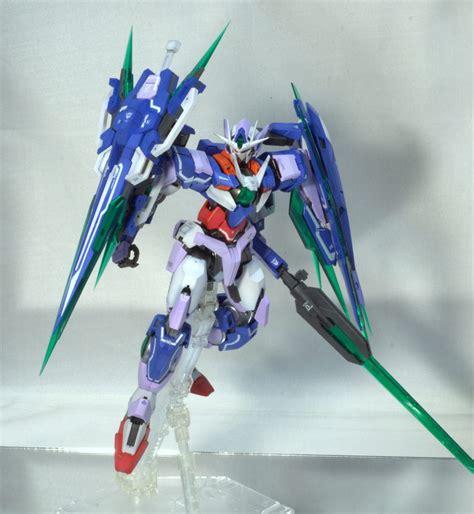 gundam qan t wallpaper mg 1 100 gundam 00 qan t full saber modeled by