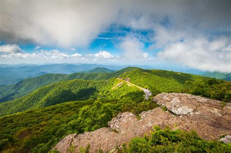 carolina blue ridge parkway asheville nc landscape