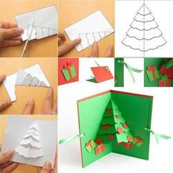 diy pop up cards templates tree pop up card diy