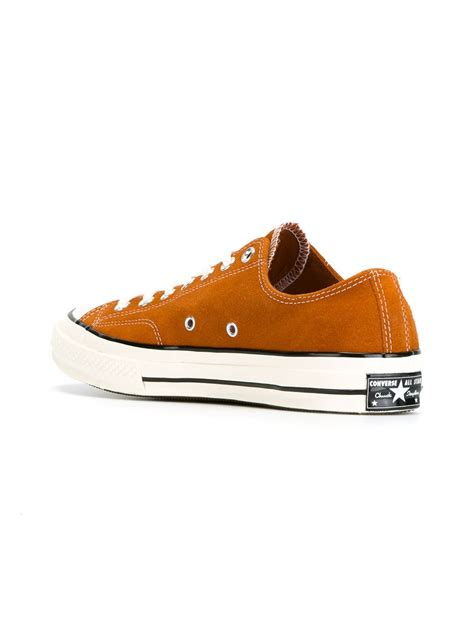 chuck all sneakers lyst converse chuck all sneakers in yellow
