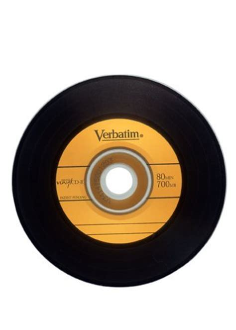 verbatim printable vinyl cd advertising lab verbatim digital vinyl cd r