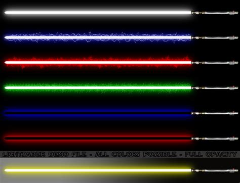 all lightsaber colors and meanings jedi sith lightsaber the forge single bladed by d t