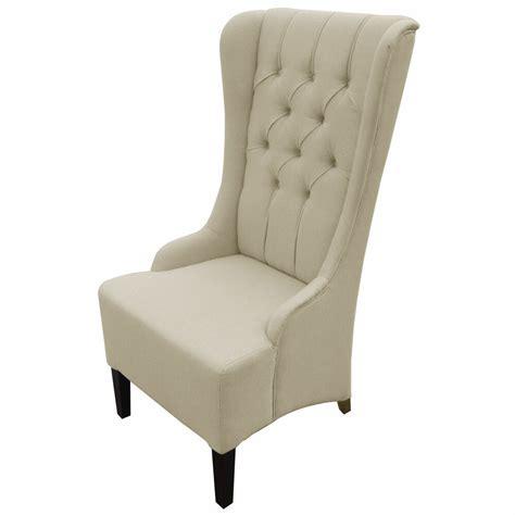 vincent beige linen modern accent chair seat accent decor
