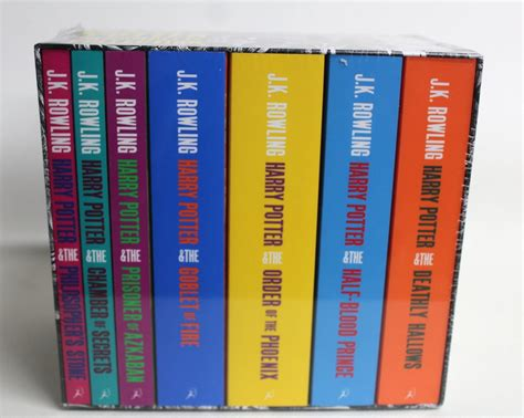 Herry Potter Complete Set Bloomsbury bnib bloomsbury harry potter the complete collection box set paperback ebay