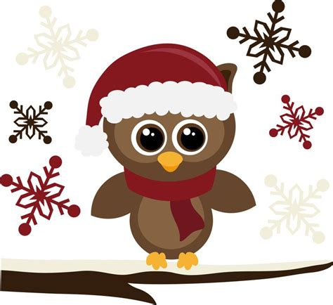 christmas owl pictures santa hat owls hats and santa hat