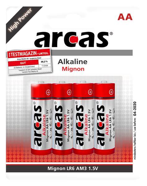 Baterai Aa 1 5 V mignon batterie alkaline 1 5v typ aa lr6 4er pack ett
