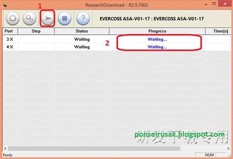 tutorial flash evercoss a5a bintang cara flash evercoss a5a