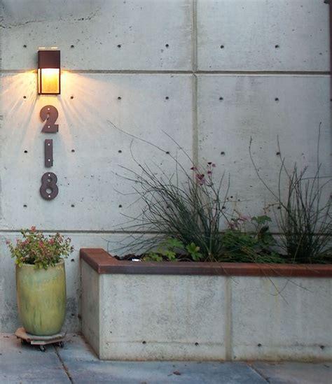 Concrete Planters Seattle by Address Graphics With Concrete Planter Modern Landscape Seattle By Dan Nelson Designs