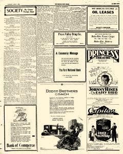 Roswell Nm Records Roswell Daily Record April 4 1925