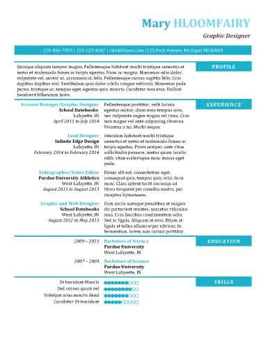 Resume Template Hloom by Hloom Resume Templates Modern Thevillas Co